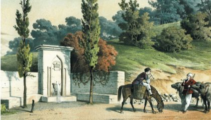 У крымских татар была должность надзирателя фонтанов