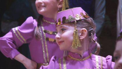 Дебютный концерт детского ансамбля «Яш несиль» прошёл при полном аншлаге