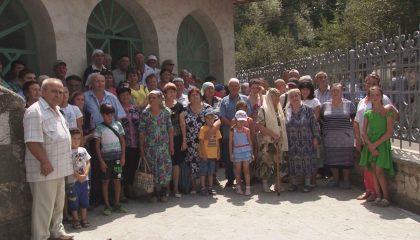 Встреча односельчан в «голубоглазом» селе