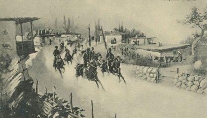 На крымскотатарские свадьбы звали верхом на лошади