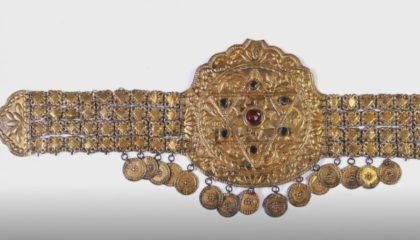 Знатные крымские татарки носили баш-алтын