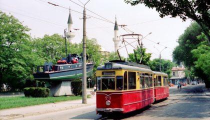 Трамваи в Кезлеве (Евпатории) ездят более 100 лет