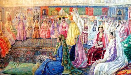 Крымские татары гуляли на свадьбах 7 дней