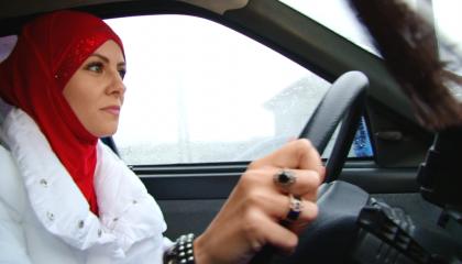 Сальма Аблязизова – девушка-таксист