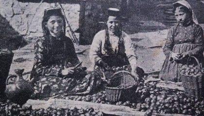 В приданое крымской татарке могли дать …ореховое дерево