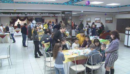 Волонтёры собрали рекордную сумму на благотворительном мастер-классе