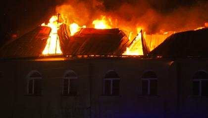 В микрорайоне Богъурча (Каменка) горело общежитие