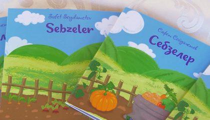Детская книга «Себзелер» поможет в изучении родного языка