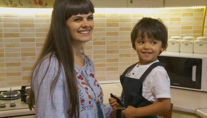 3-летний поварёнок  Рамиль Исмаилов – знаток правильного питания