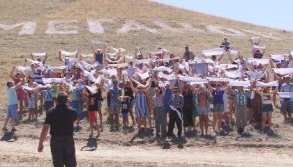 Местные активисты протестуют против застройки мыса Меганом