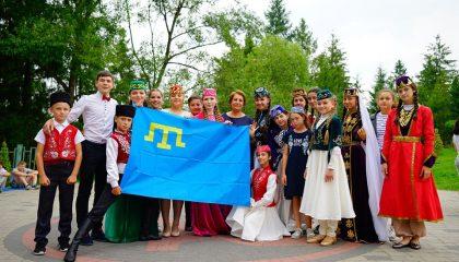 26 талантливых крымскотатарских детей отдохнули в Карпатах