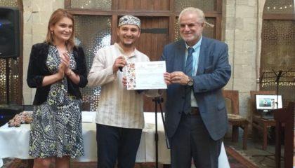 Эльдар Гусенов стал лучшим на международном фестивале в Баку