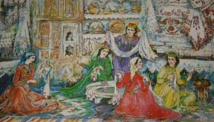 Зарема Трасинова – художник, которому позирует жизнь