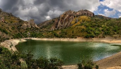 Озеро Панагия – «место силы», спрятанное в горах