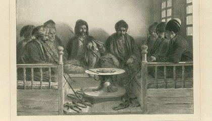 15 лучших старинных изображений крымскотатарских кофеен