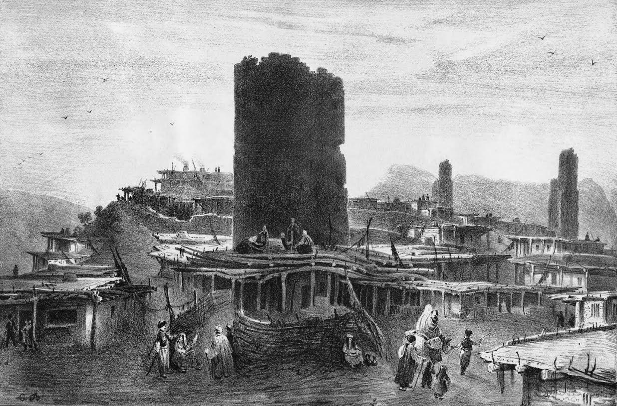 Гравюра Карло Боссоли. 1842 год