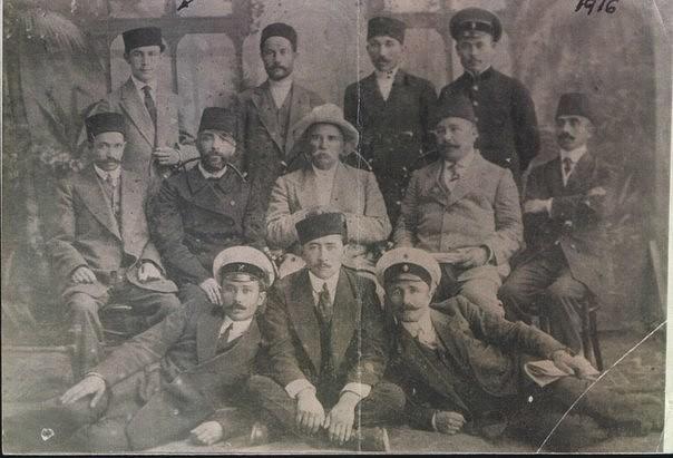 Купцы Евпатории. Фотография 1914 года