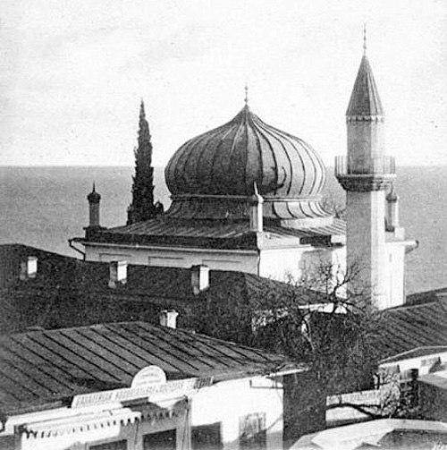 Еще одно фото мечети в Алупке
