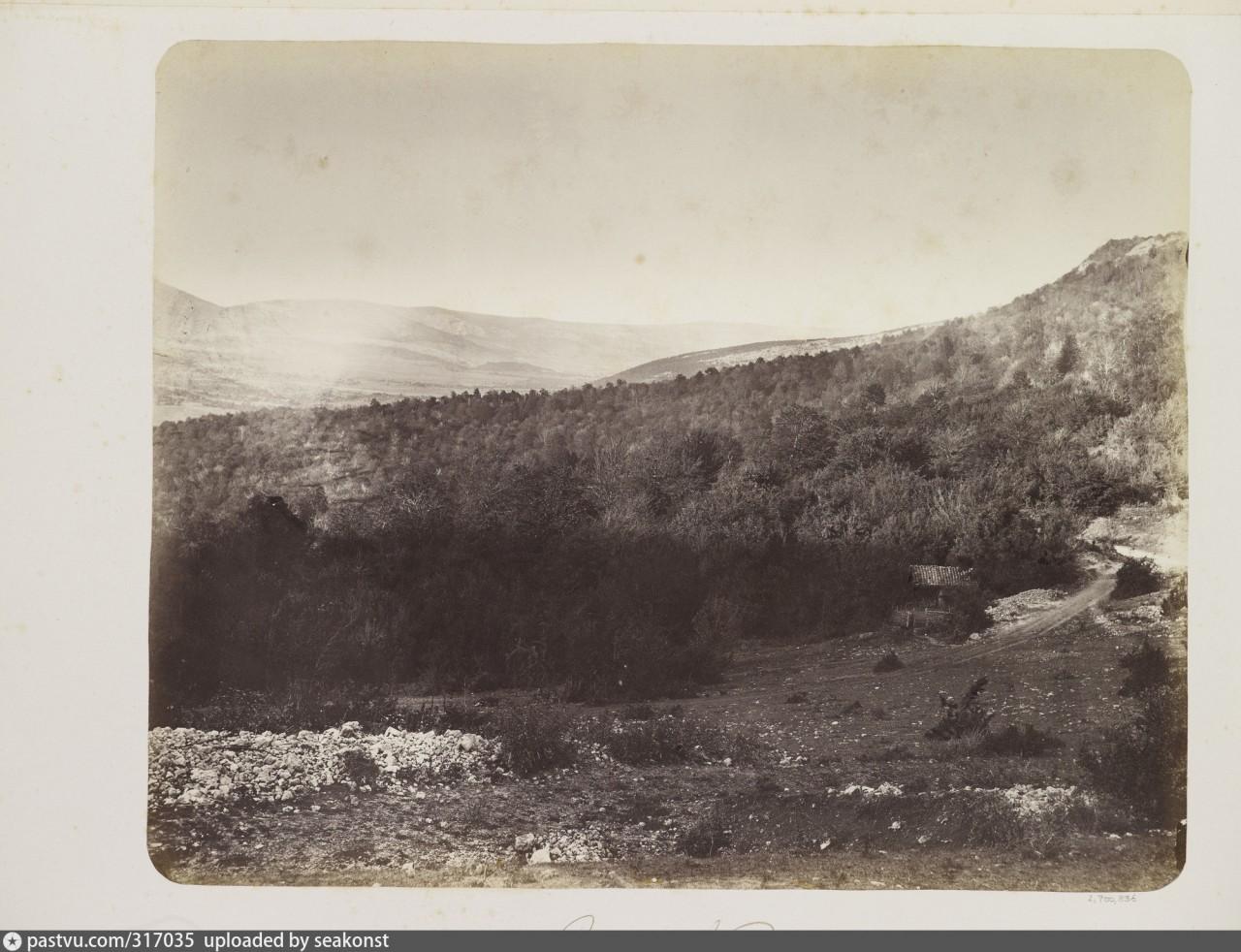 Байдарская долина. 1868 год