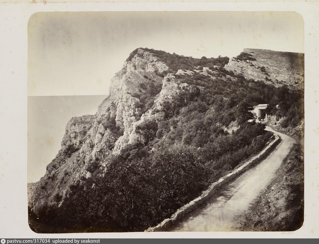 Байдарские ворота. 1868 год