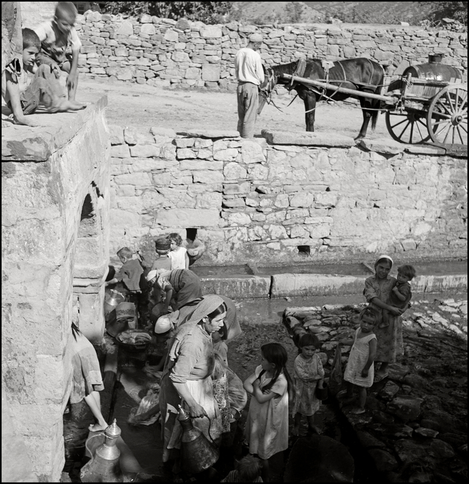 UKRAINE. Crimea. 1943. Well in a Tartan Village. M-UK-VOR-003