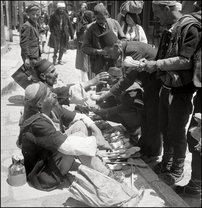UKRAINE. Crimea. Simferopol.1943. On the Marketsquare. M-UK-TAT-003