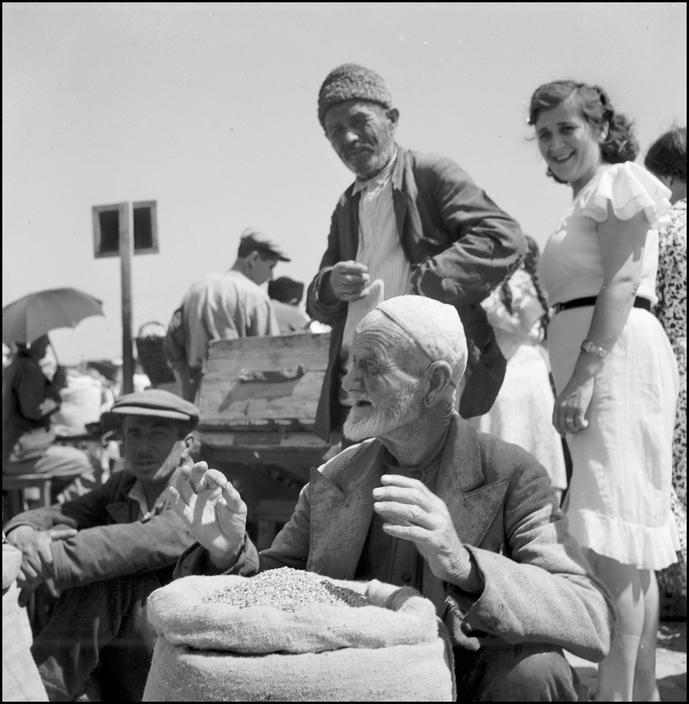 UKRAINE. Crimea. Simferopol.1943. On the Marketsquare. M-UK-SIM-004