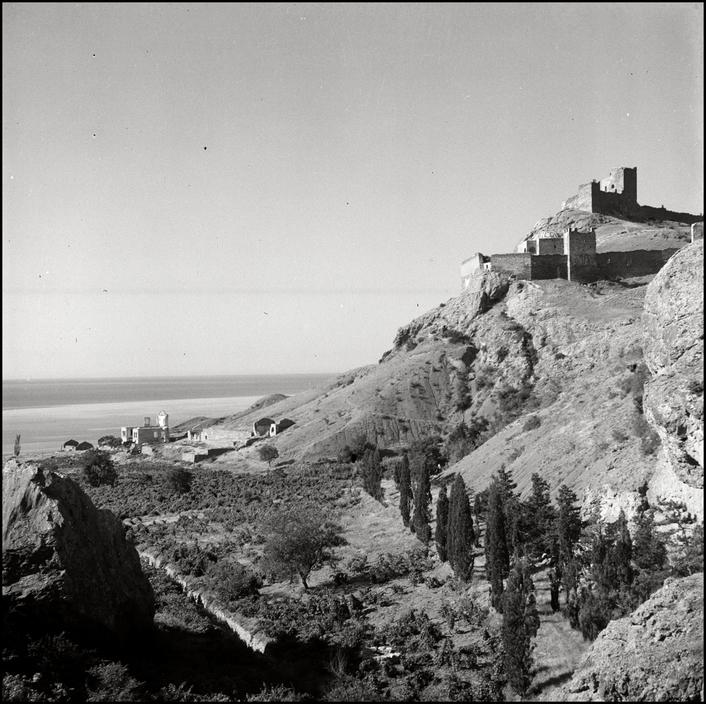 UKRAINE. Crimea. 1943. Fort Sudak. L-UK-SUD-009