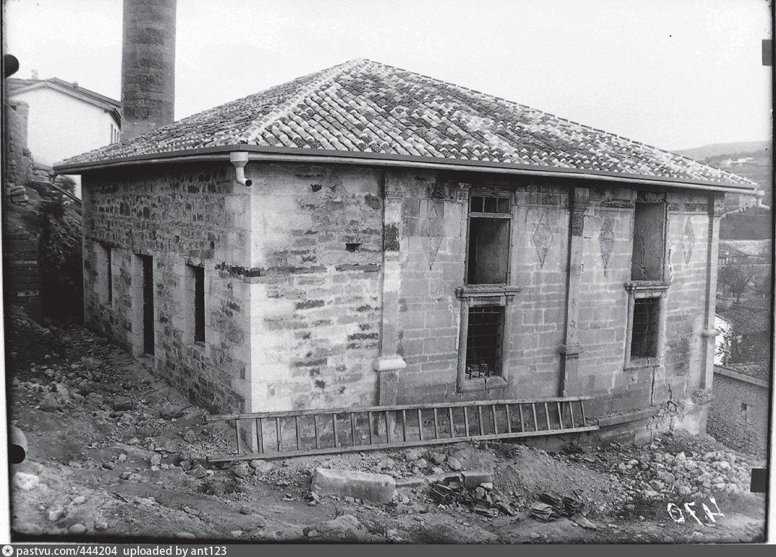 Мечеть Ешиль-Джами в Бахчисарае. Фото 1927-1930 гг
