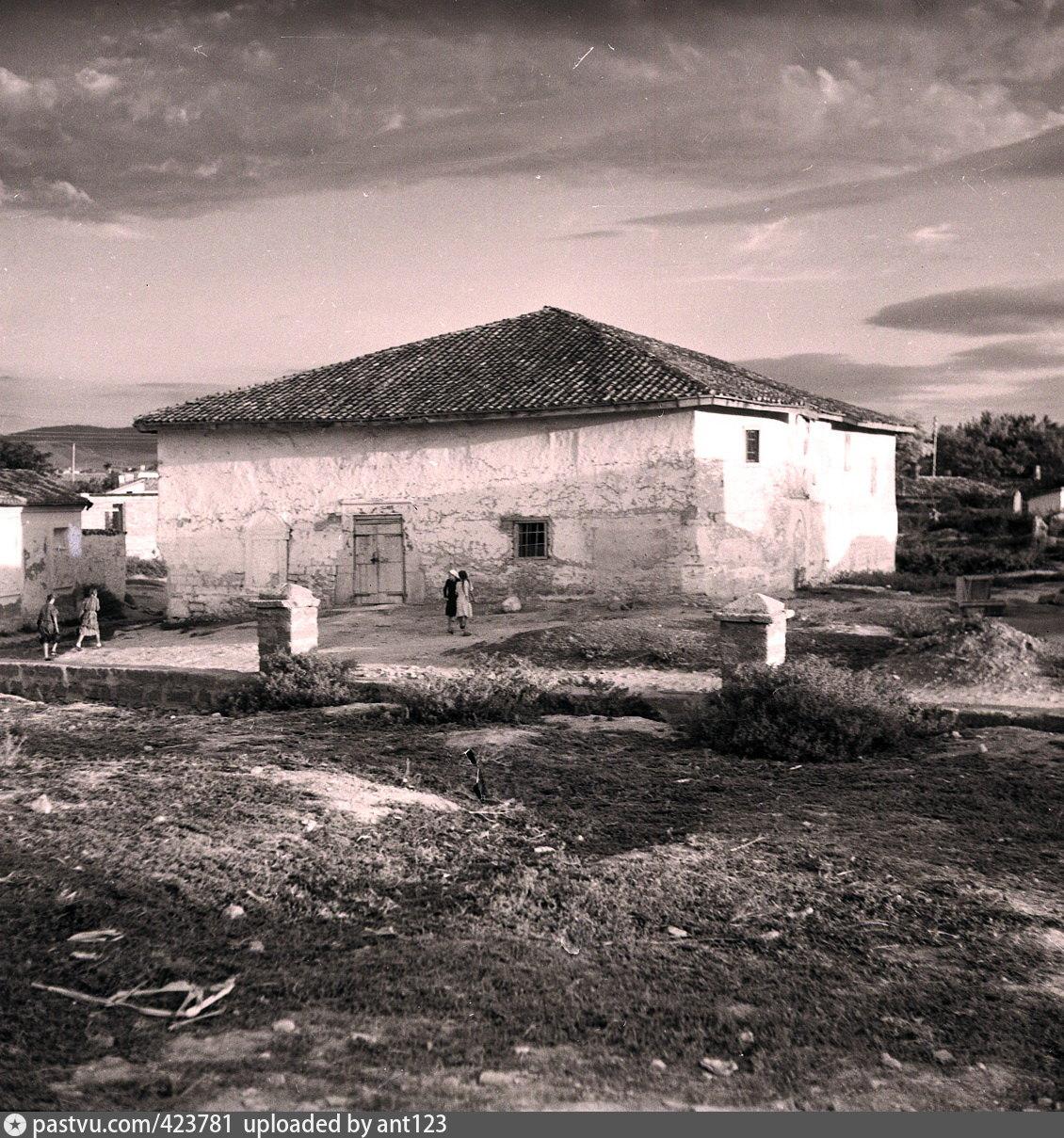 Мечеть Шор-Джами в Карасубазаре. Фото 1945-60 гг