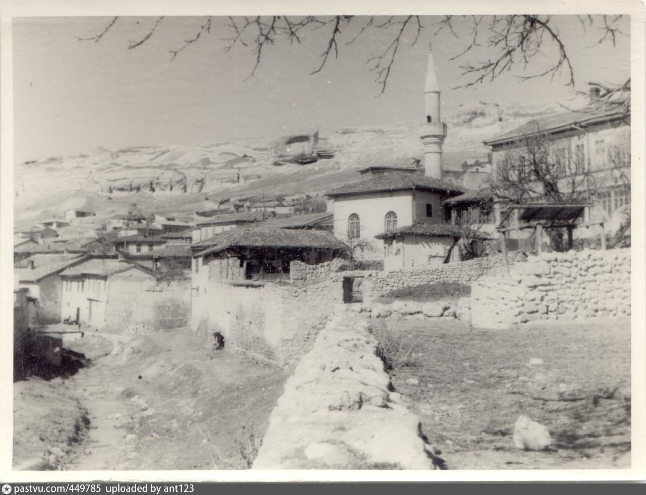 Мечеть Тахталы-Джами в Бахчисарае. Фото 1941-1943 гг