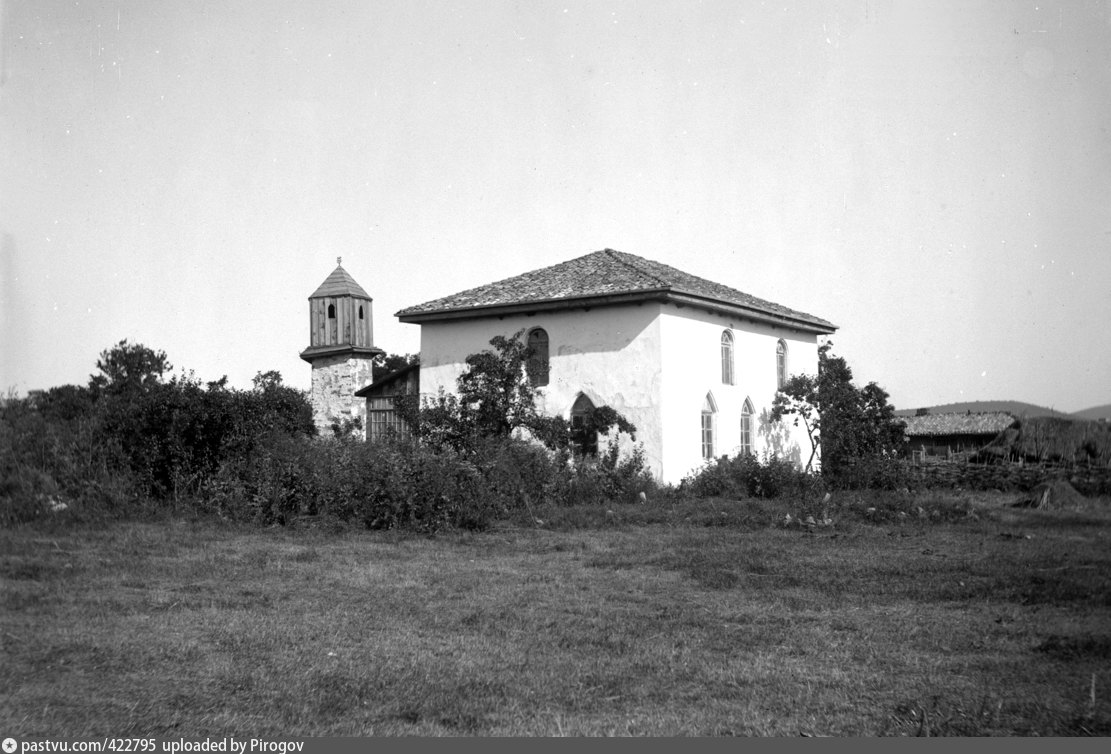 Крымская мечеть. Местоположение неизвестно. Фото Антона Стуксберга, 1897 год