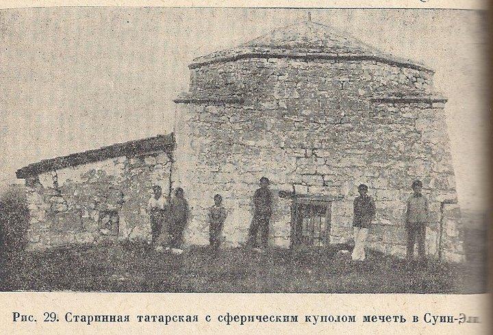 Старинная мечеть в деревне Суин-Эли