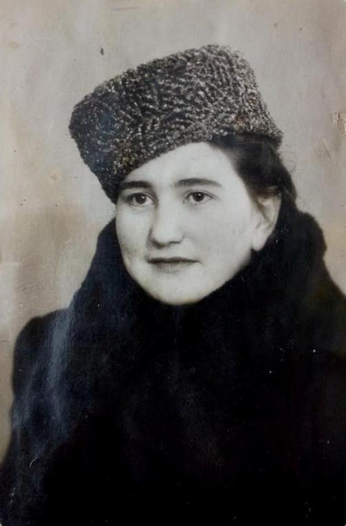 Уроженка с. Къоз Фатиме-Тотай Измайлова. 1952 г Из архива семьи Вааповых