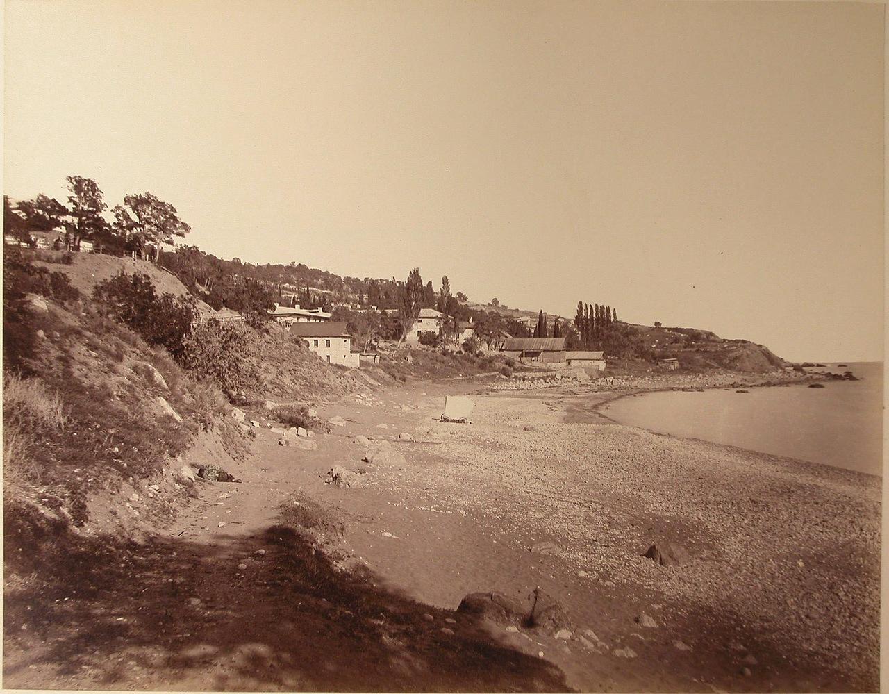 Симеиз на фото предположительно конца XIX века