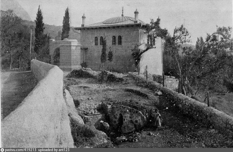 Мечеть Джума-джами в Симеизе. Фото 1913 г