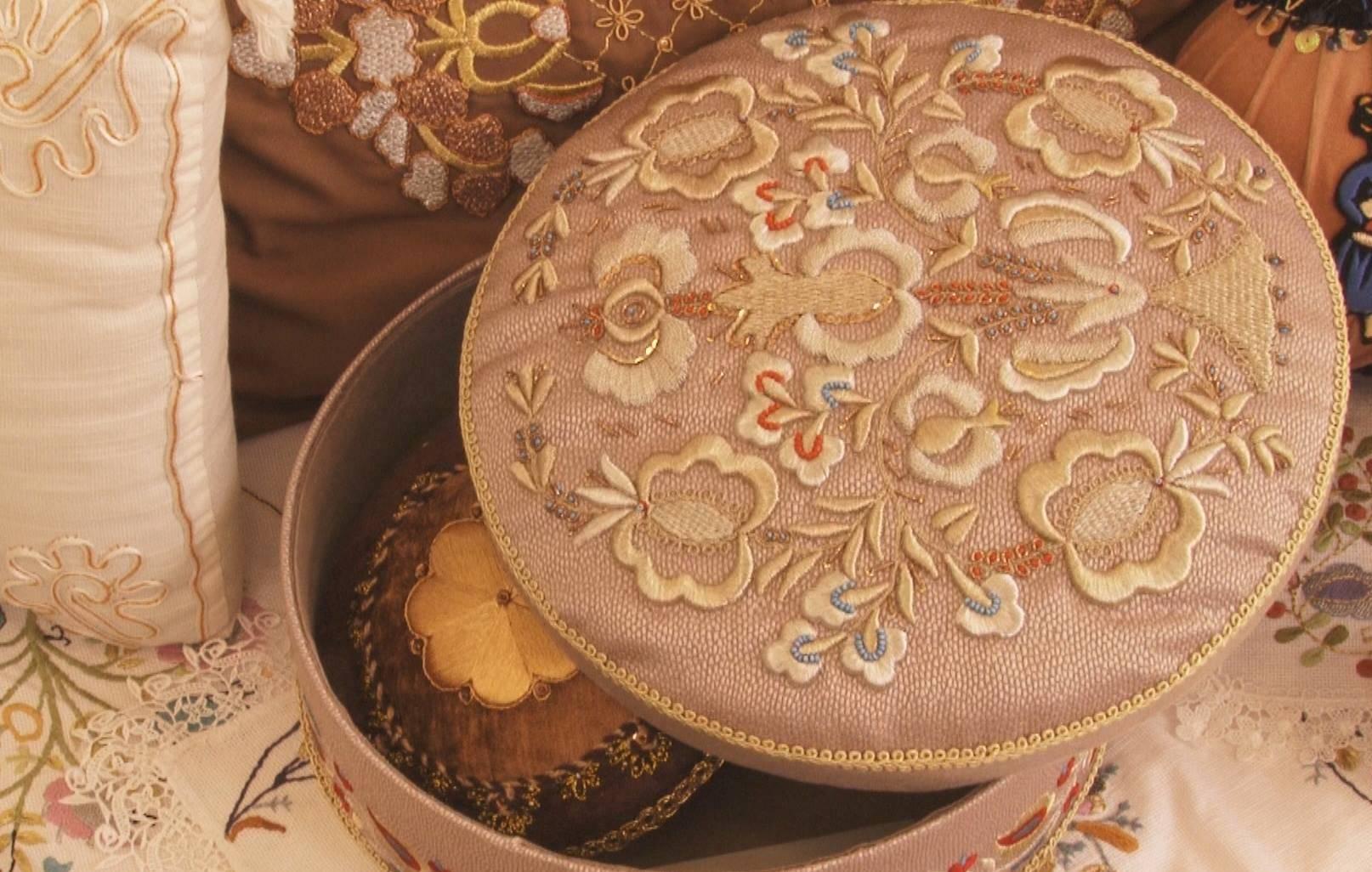 История вышивки в одежде